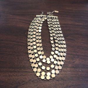 Mika Vintage Gold Multi-Strand Necklace
